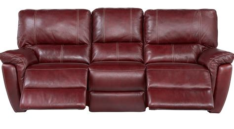 red sofa recliner red reclining sofa ashley furniture red leather sofa thesofa