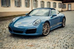 Porsche Targa 4 Official 2017 Porsche 911 Targa 4s Exclusive Design
