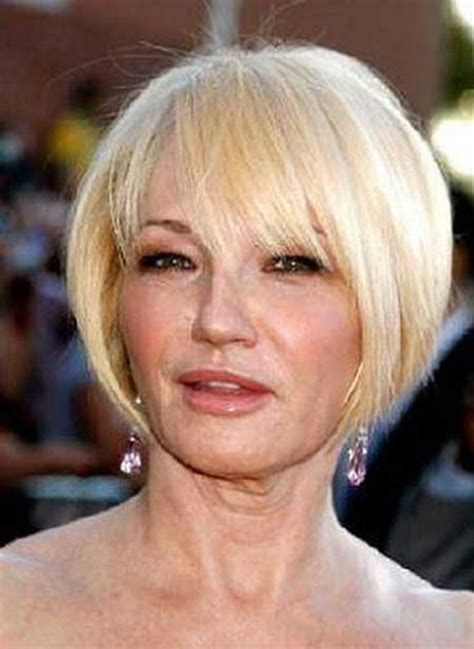 hairstyles for women over 50 with fine straight hair short haircuts for women over 50 with straight hair