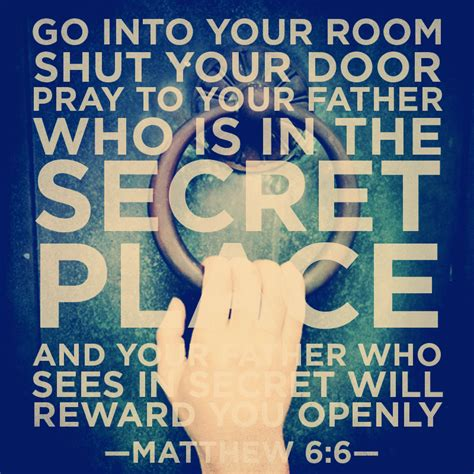 Go Into Your Closet And Pray by Scripture Prayer Battle In The Secret Place