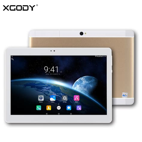 Tablet Android Dual Sim xgody s107 tablet 10 1 inch 4g dual sim android 6 0 mtk mt6735 2g ram 16g rom 1920