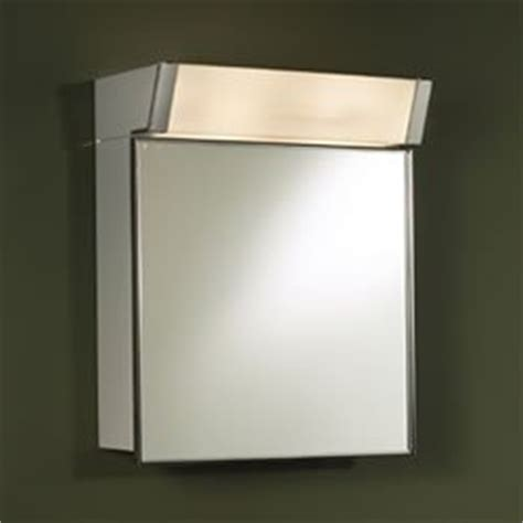 555il lighted locking medicine cabinet stainless