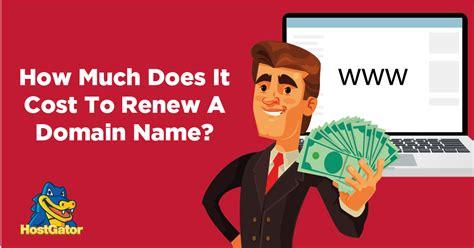 cost  renew  domain  hostgator blog
