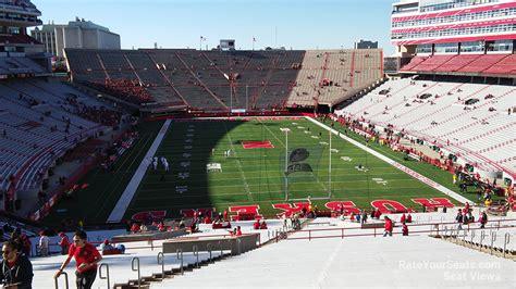 section 36a memorial stadium nebraska section 36c rateyourseats com