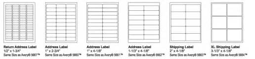 skilcraft labels
