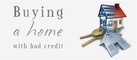 how to buy a house with bad credit score how to buy a house with bad credit in 6 steps updated 2018