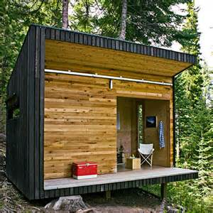 Prebuilt Tiny Homes Jetson Green Modern Off Grid Signal Shed In Oregon