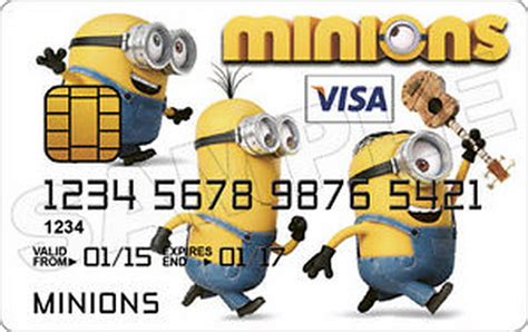 Minion Gift Card - credit cards with minions pictures 09 16 52 am saturday 07 november 2015 pst 10