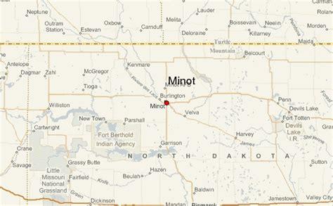 minot dakota map minot dakota location guide