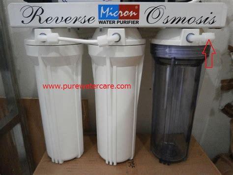 cara membuat filter air rumahan cara pemasangan mesin ro