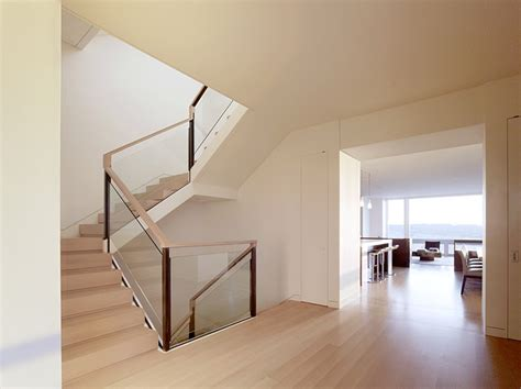 glass staircase banister glass railing system staircase modern with banister glass