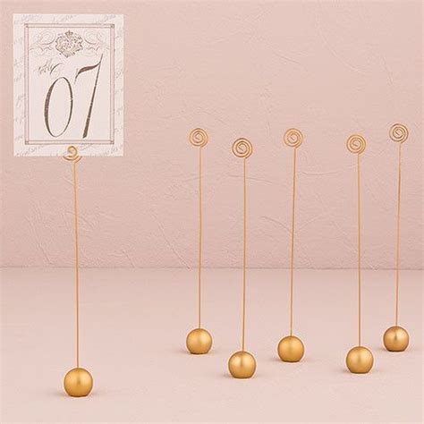 silver wedding table number holders the 25 best table number holders ideas on