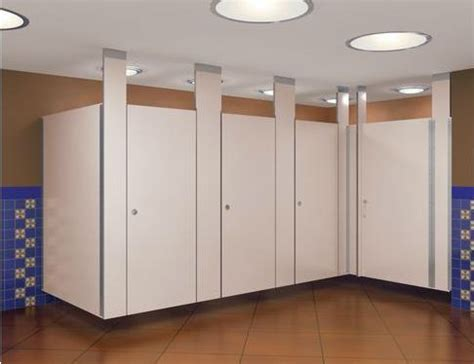 Bathroom Stall Dividers by Bathroom Partitions Simple Stainless Restroom Partitions