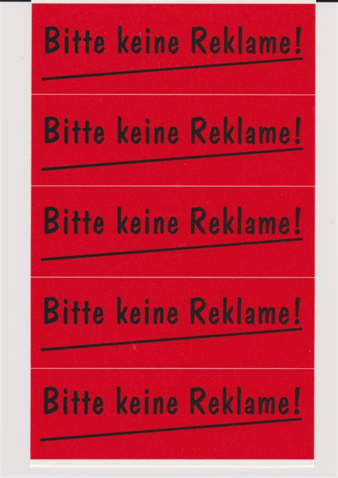 Aufkleber Am Briefkasten Einbrecher by Im Bild Ratzfatz Werbefrei Werden