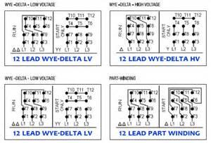 weg motor wiring diagram 6 lead wiring diagram website