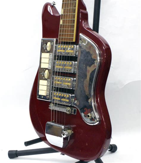 Melody Ss vintage sixties teisco melody ss 4l electric guitar with 4 gold foil ss reverb