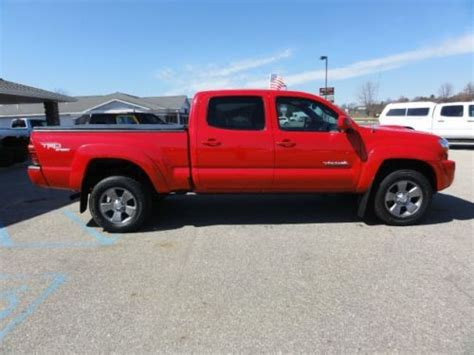 Buy Used Toyota Tacoma Buy Used 2007 Toyota Tacoma Cab 4x4 With Trd