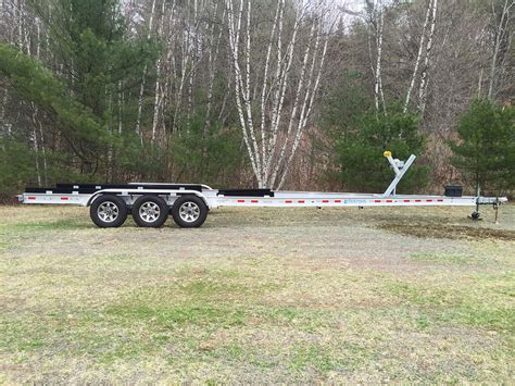 boat trailer triple axle used 2013 triple axle 34ft aluminum boat trailer 17050lb the
