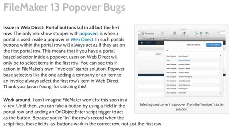 updated our article on fm13 popover workarounds seedcode