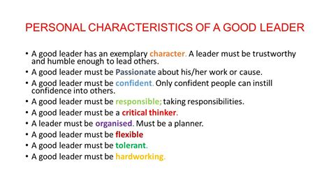 What Are The Qualities Of A Leader Essay by Characteristics Of A Leader Essay What Are The Qualities Of A Leader Vinita Bali What