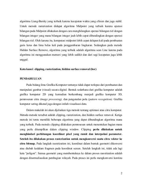 contoh format makalah sederhana contoh format tugas makalah
