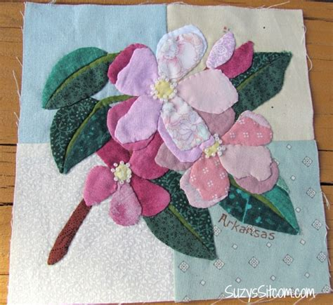 flower applique state flower applique quilt and an exciting opportunity to