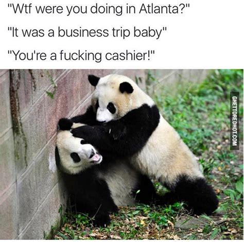 pandas love atlanta ghetto red hot