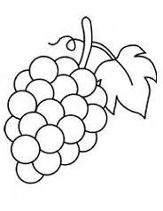 grapes coloring page green grapes coloring pages free green grapes
