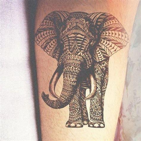elephant tattoo images free geometric elephant tattoo