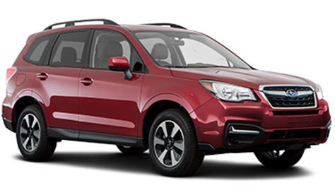 compare subaru forester models compare 2017 subaru forester vs honda cr v model