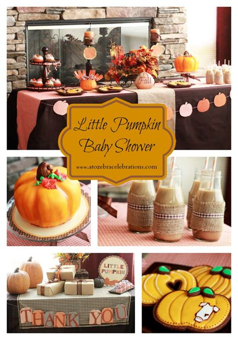 Pumpkin Baby Shower by Pumpkin Baby Shower Savvy Sassy