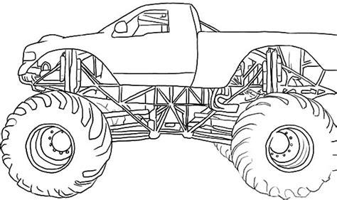 monster trucks drawings monster jam monster trucks coloring pages printable