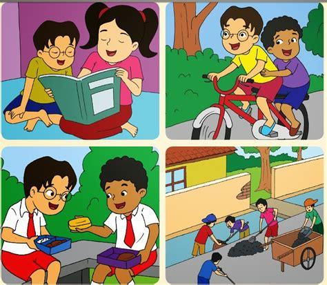 Harga Buku Pkn Kelas 11 Kurikulum 2013 gambar media pembelajaran kelas 2 sd materi pkn kerukunan