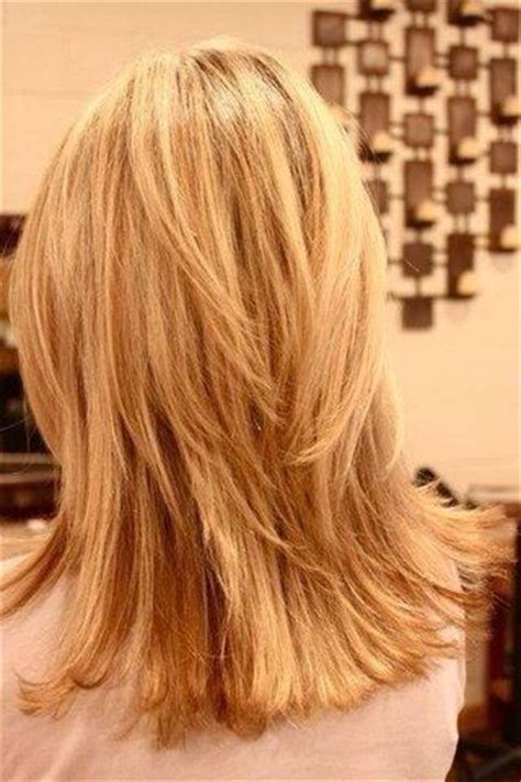 few long layers on thick hair medium length layered haircut for thick hair mountains