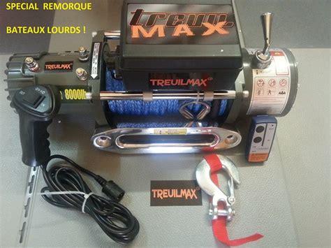 Treuil Electrique 12v 2300 by Treuil Electrique Treuilmax Pro 8000 3600kg Cordage Plasma