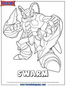 skylander coloring pages skylanders giants air swarm coloring page h m coloring