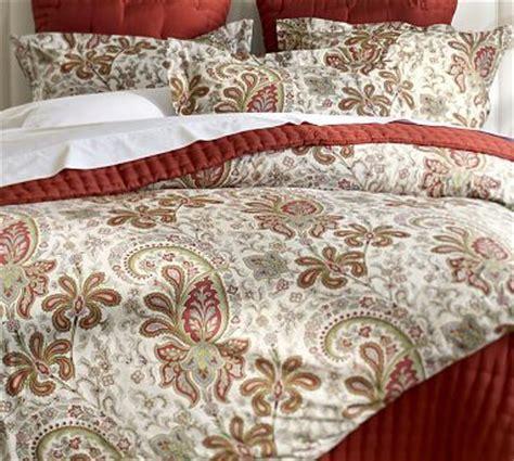 red paisley bedding master bedroom charlie paisley organic duvet cover sham