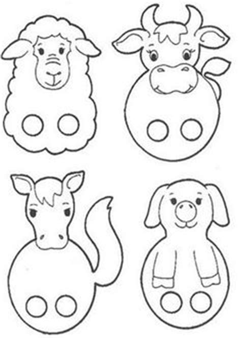 card finger puppet template farm animal finger puppets kiz read more about puppets