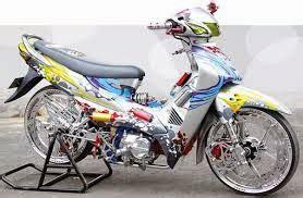 Tutup Filter Supra Fit Lama Asli modifikasi motor honda supra fit x ala thailand style tropie modifikasi motor
