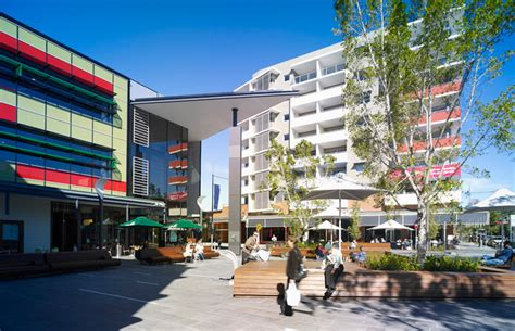 ice design rouse hill rouse hill town centre wins global urban design award