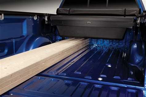 bed tool box tonneau mate under truck cover truck bed tool box by truxedo 2007 2015 toyota tundra
