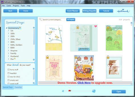 hallmark card studio templates hallmark card studio deluxe