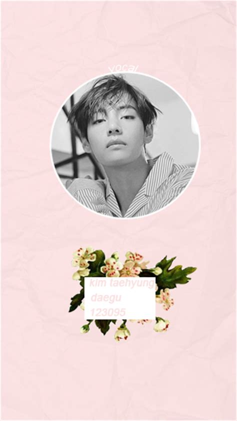 bts wallpaper edit taehyung profile image 4777385 by bobbym on favim com