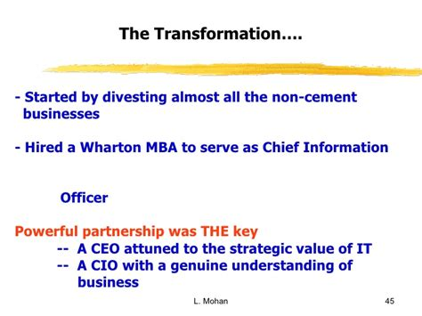 How Much Is A Wharton Mba Worth by Management Imperatives To Make It Business Smart