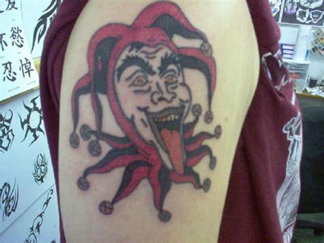 joker tattoo right bicep arm tattoo images designs