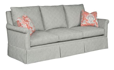 sofa with skirted base kincaid furniture modern select customizable grand sofa