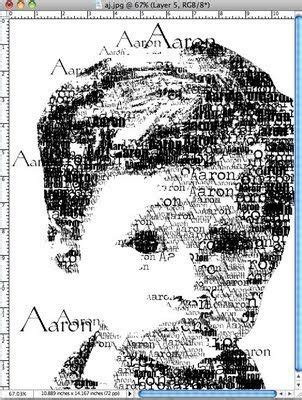face typography tutorial photoshop cs3 photoshop elements trick for making face out of child s