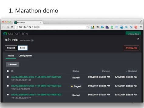 docker marathon tutorial intro to cluster scheduler for linux containers