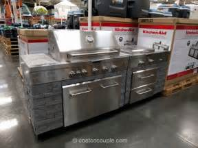 Kitchen Island Grill by Kitchen Aid 7 Burner Outdoor Island Gas Grill