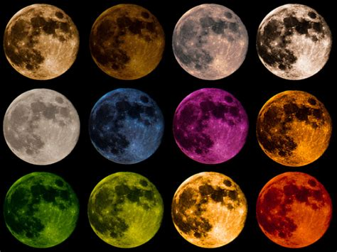 colors of the moon colors of the moon did you it